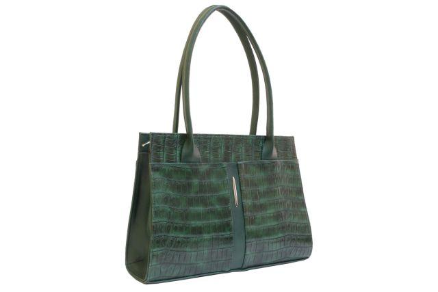 1518 сумка женская зеленая