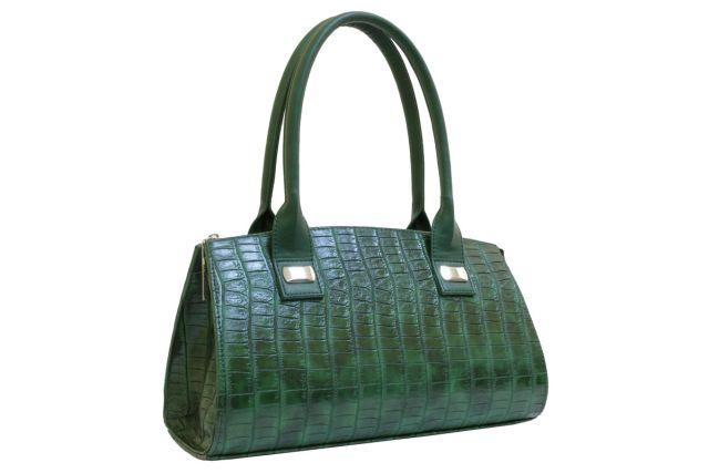 1519 сумка женская зеленая
