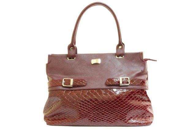 1715 сумка женская бордовая