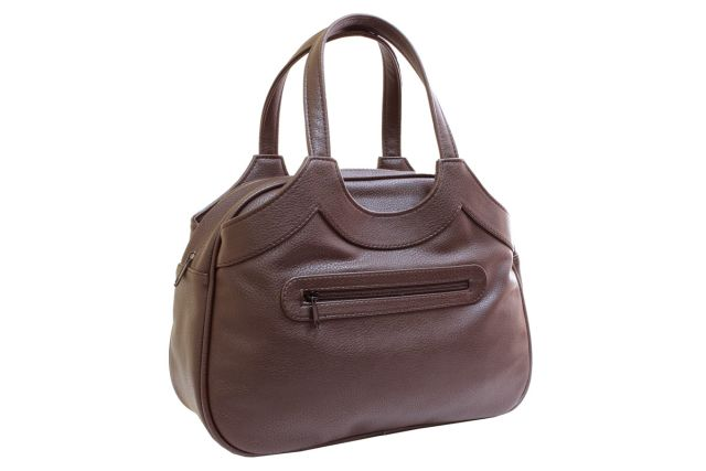 1517 сумка женская коричневая