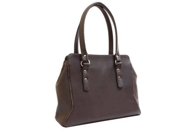 1707 сумка женская коричневая