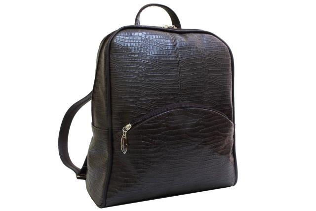 1722 рюкзак коричневый крок