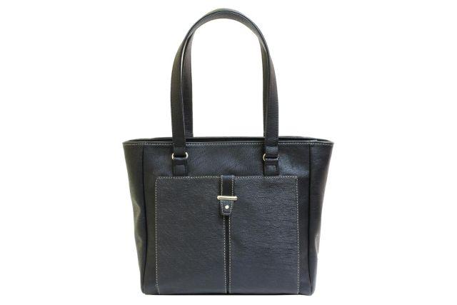 1528 сумка женская черная