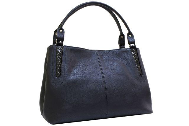1735 сумка женская черная