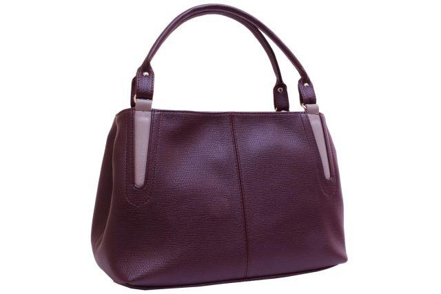 1735 сумка женская бордовая