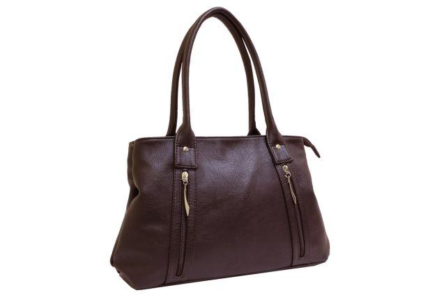 1431 сумка женская коричневая