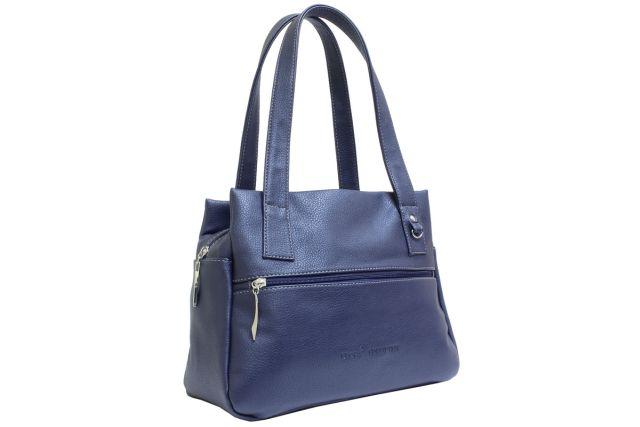 1736 сумка женская синяя