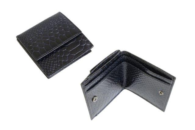 0265н портмоне крок черный