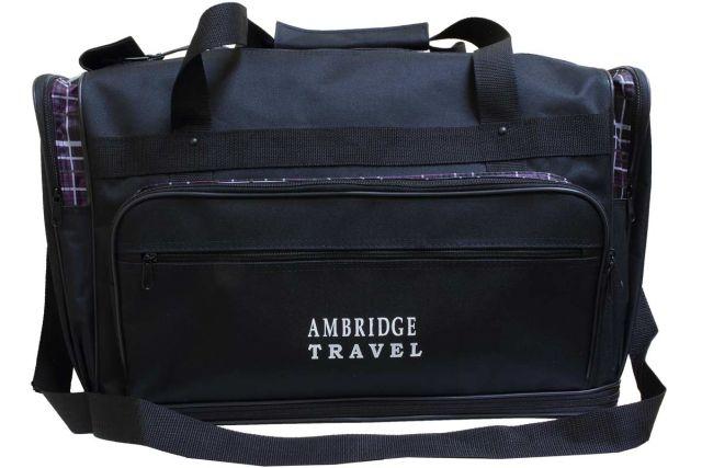0235мк сумка дорожная черная