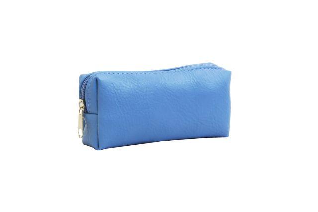 0856 косметичка голубая