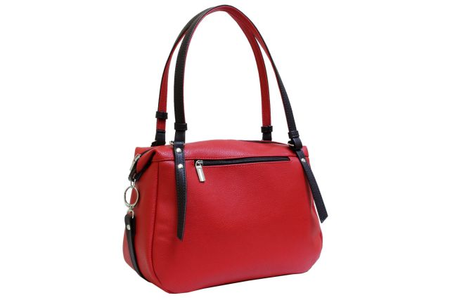 1740 сумка женская красная