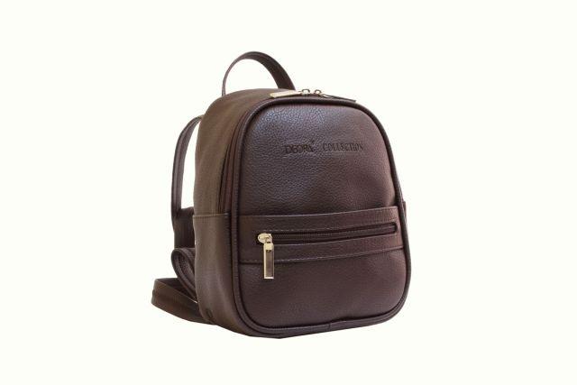 1729 рюкзак коричневый