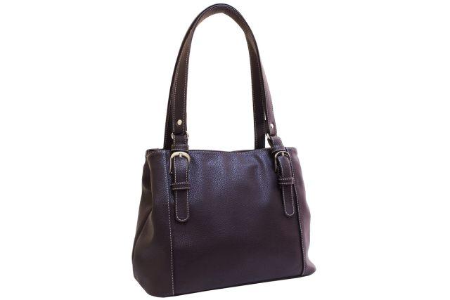1741 сумка женская коричневая