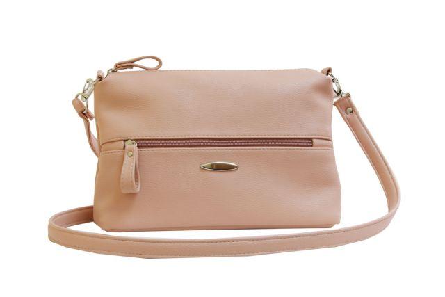 1711 сумка женская розовая