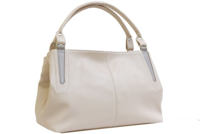 1735 сумка женская бежевая