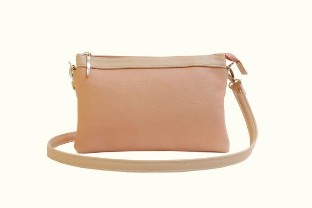 1405 сумка женская розовая с отделкой