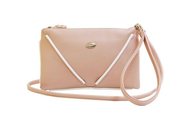 1315 сумка женская розовая