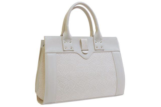 1342 сумка женская бежевая рептилия/бежевая