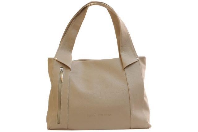 1804 сумка женская темно-бежевая