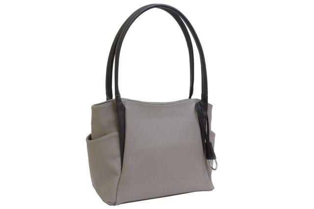 1805 сумка женская темно-бежевая