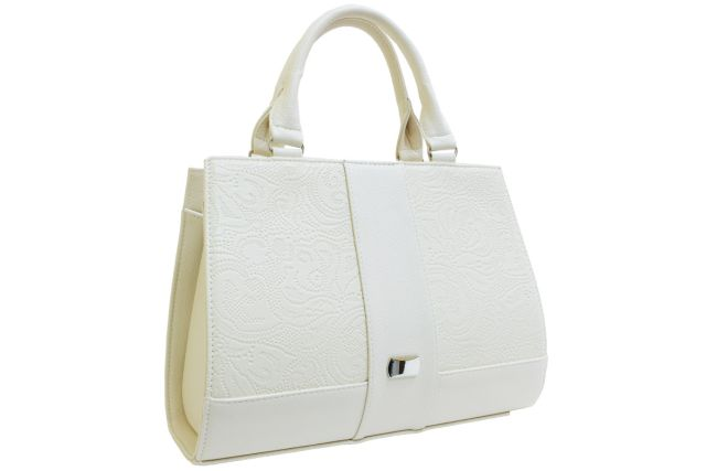 1718 сумка женская бежевая