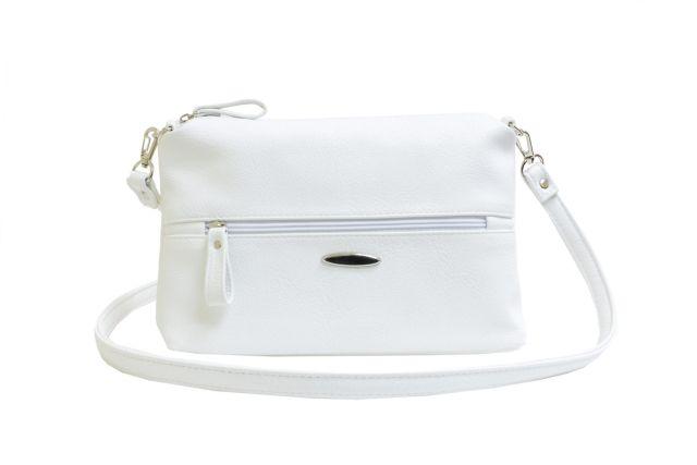 1711 сумка женская белая