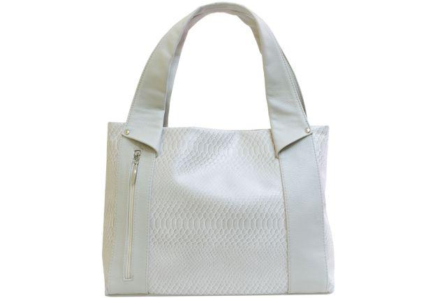 1804 сумка женская бежевый крок/бежевая