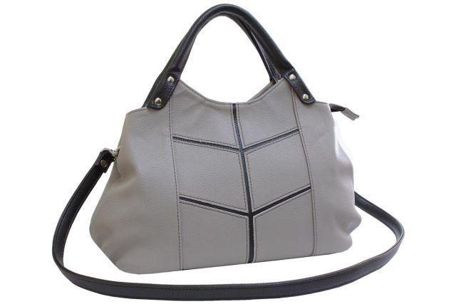 1811 сумка женская темно-бежевая