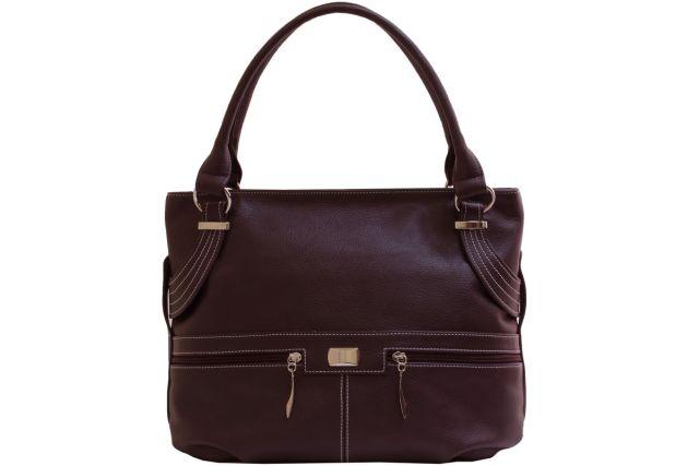 1812 сумка женская коричневая