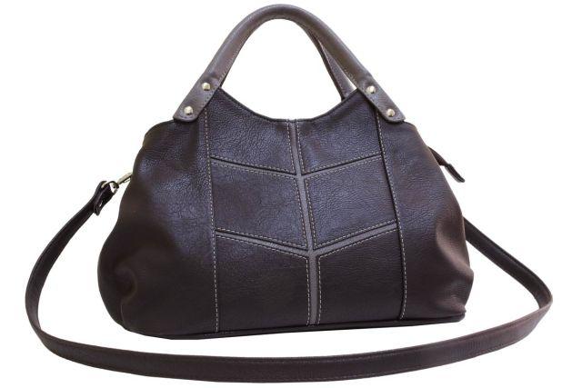 1811 сумка женская коричневая