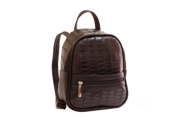 1729 рюкзак коричневый крок