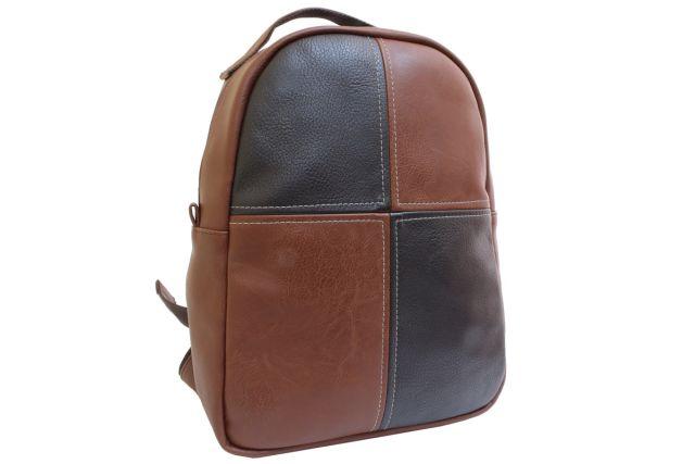 1532 рюкзак рыжий/коричневый