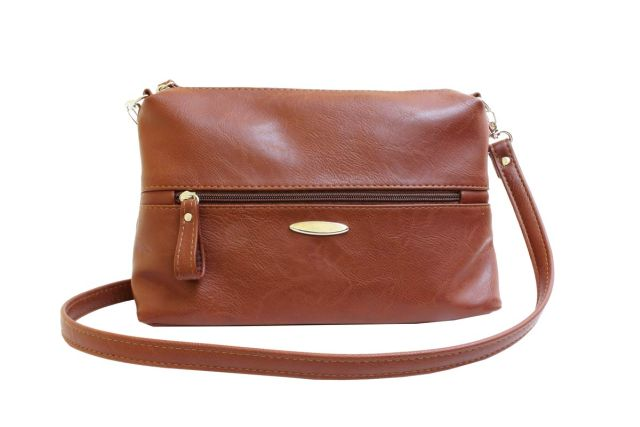 1711 сумка женская рыжая
