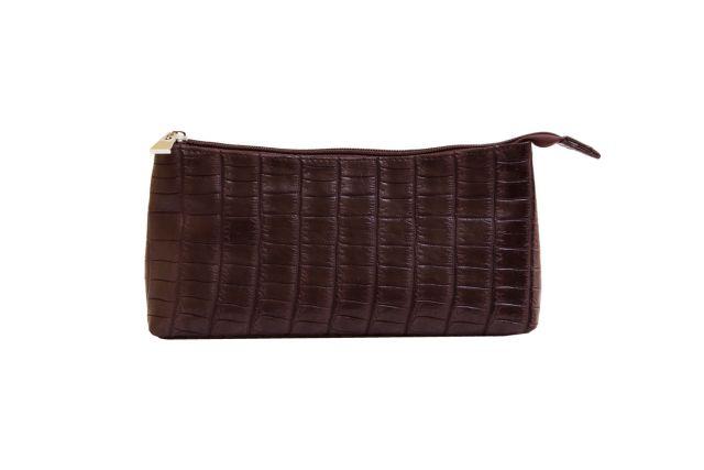 1826 косметичка коричневый крок