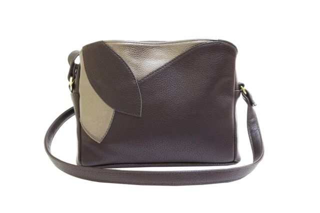 1806 сумка женская коричневая