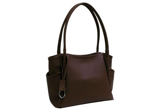 1805 сумка женская коричневая
