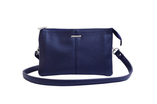 1626 сумка женская синяя
