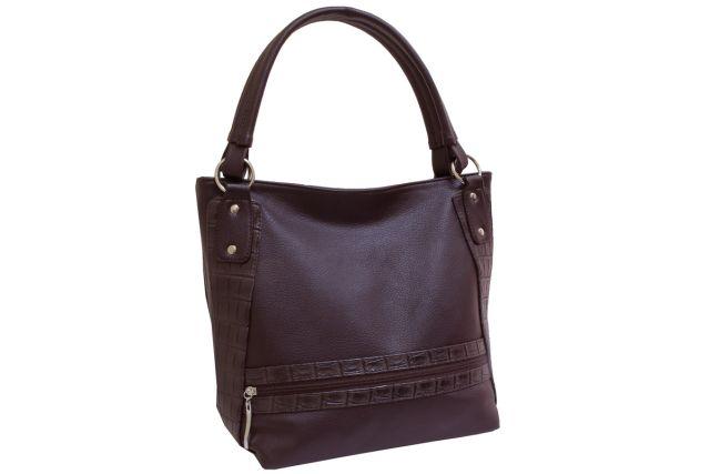 1830 сумка женская коричневая