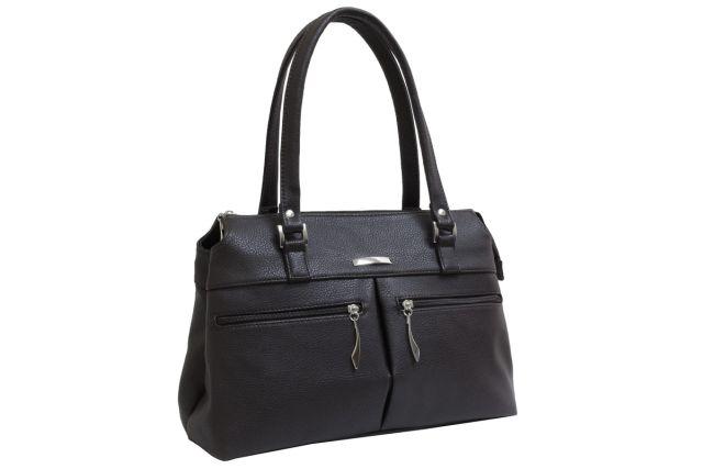 1833 сумка женская черная