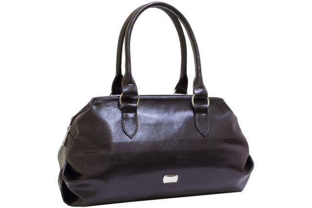 1739 сумка женская коричневая