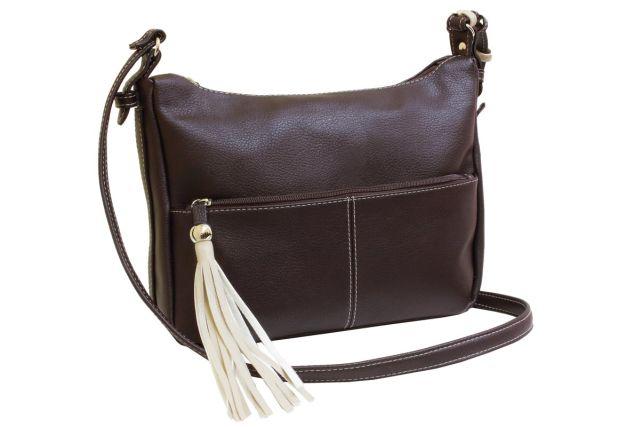 1838 сумка женская коричневая