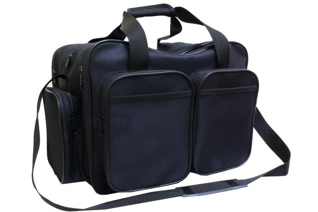 1905к сумка мужская черная