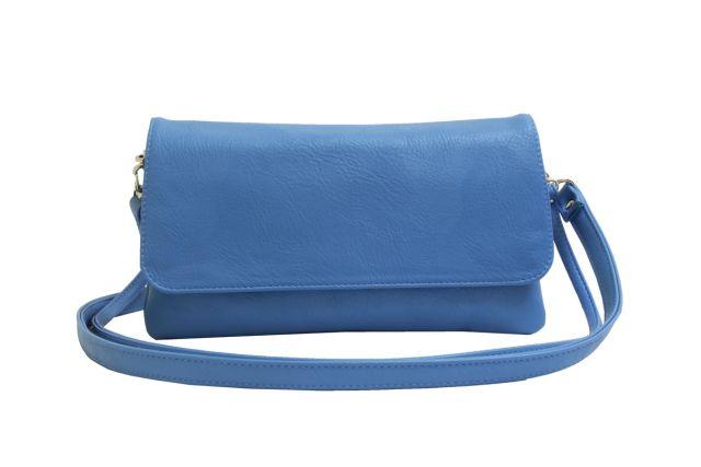 0954 сумка женская голубая