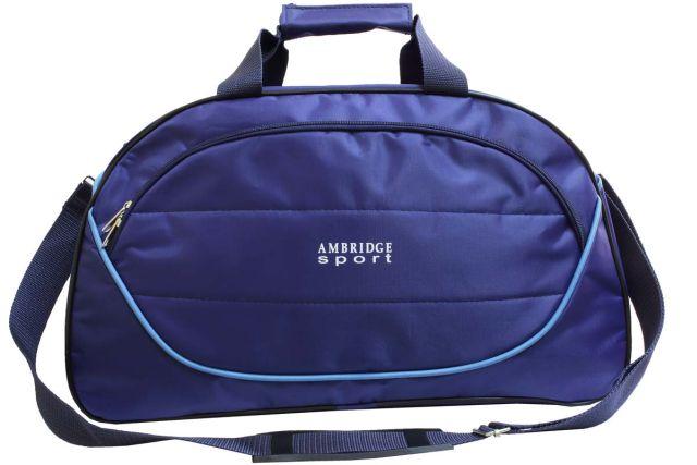 1116к сумка спортивно-дорожная синяя