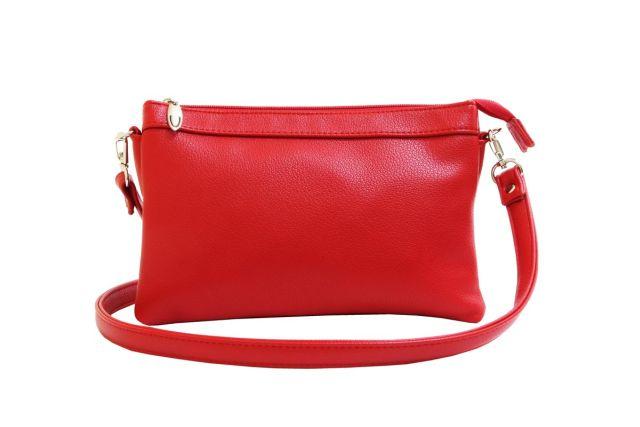 1405 сумка женская красная
