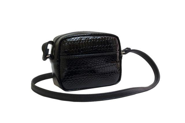 1924 сумка женская черный лак