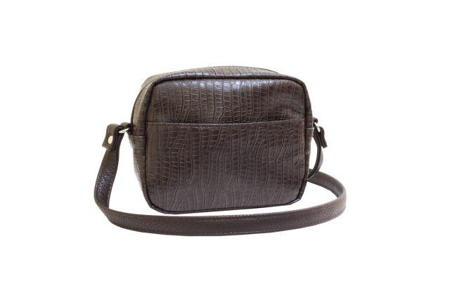 1924 сумка женская коричневый крок