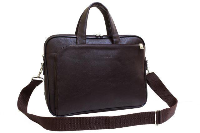 1836 сумка-папка коричневая