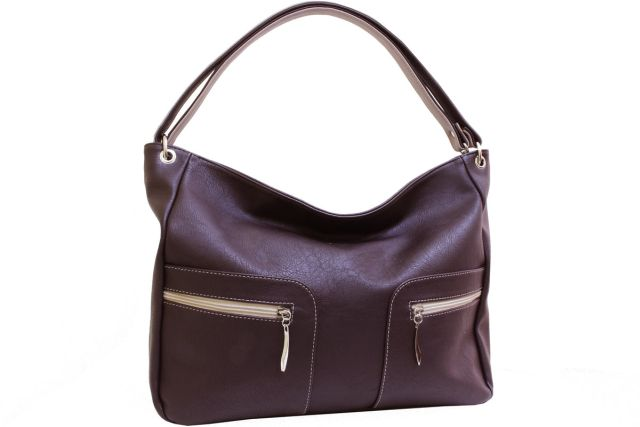 1929 сумка женская коричневая