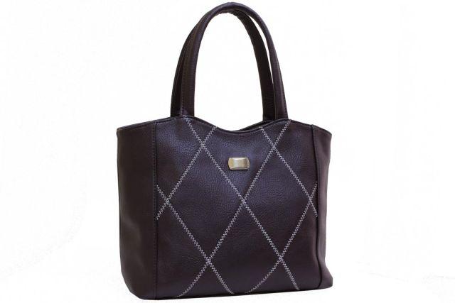 1928 сумка женская коричневая